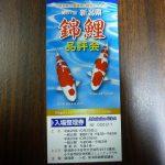 新潟県錦鯉品評会